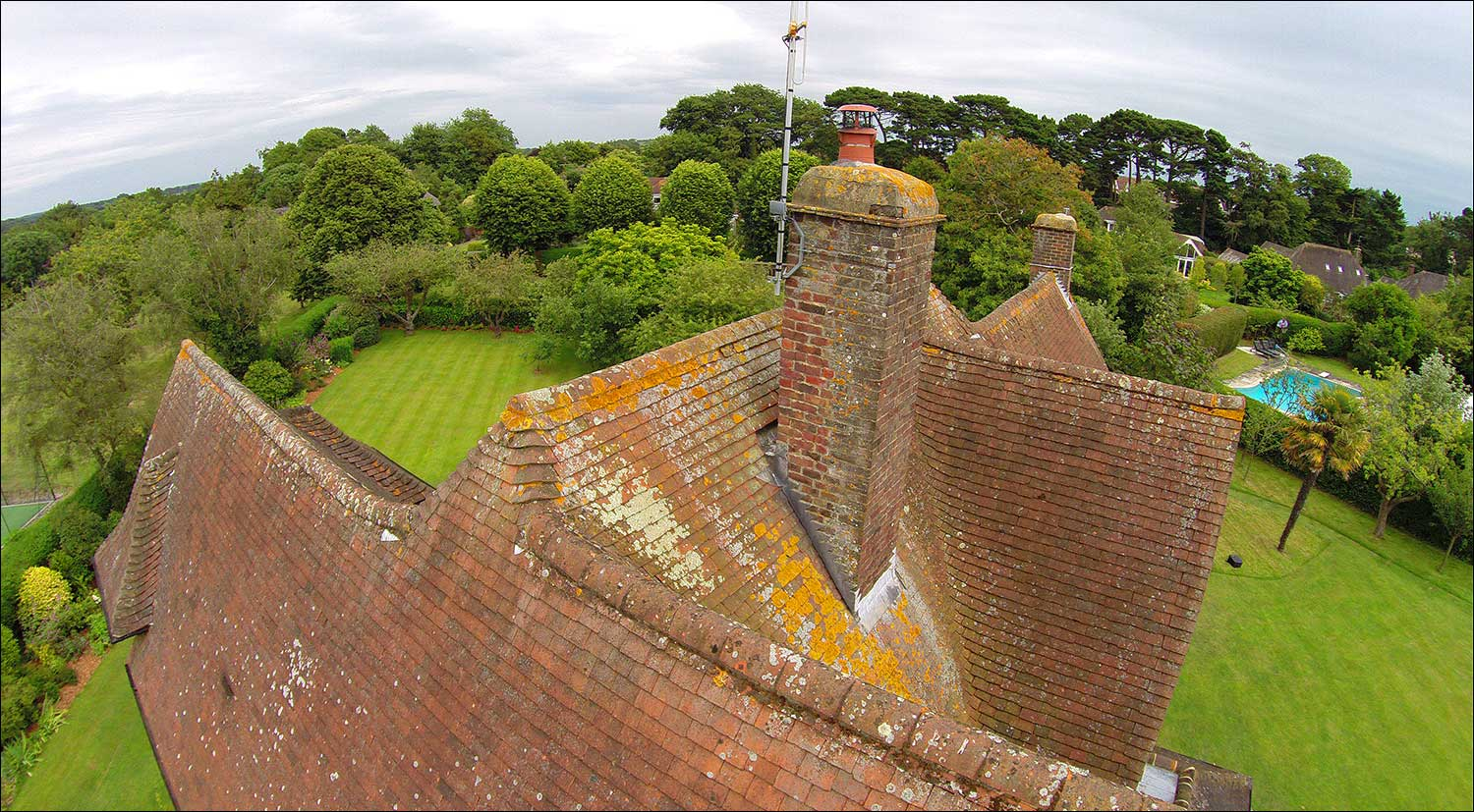 Aerial Photography for Building Surveys